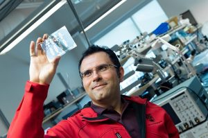 UBCO research takes the chill off icy build-up on planes and wind turbines